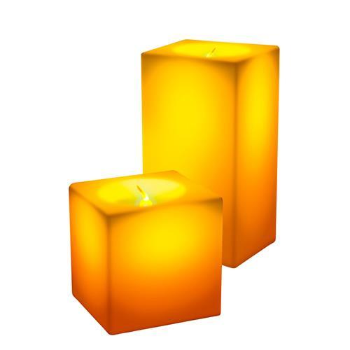 Vela Decorativa Square Led - Relaxmedic