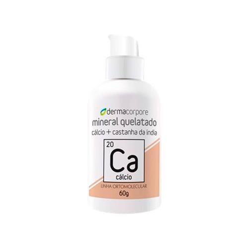 Cálcio Quelato E Castanha Da Índia Para Combate À Gordura Localizada 60 G - Dermacorpore