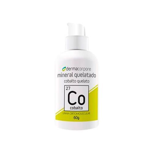 Cobalto Mineral Quelatado Para Formação Da Hemoglobina 60 G - Dermacorpore