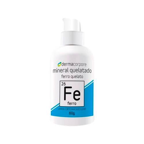 Ferro Mineral Quelatado Para Processos Enzimáticos 60 G - Dermacorpore