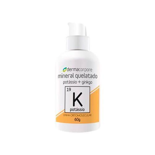 Potássio Quelato E Ginkgo Com Função Analgésica 60 G - Dermacorpore