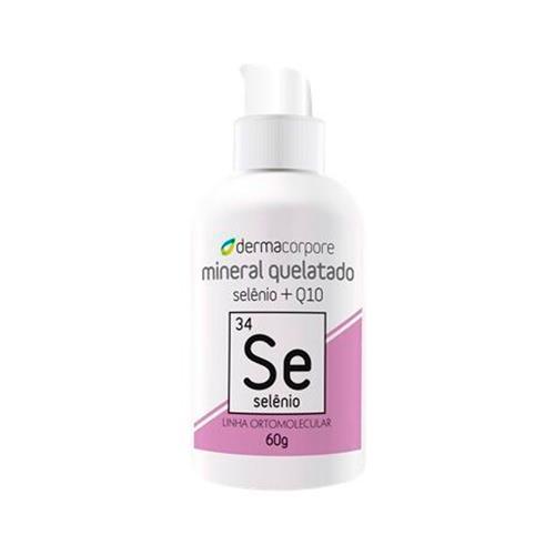 Selênio Quelato E Q10 Para Manter A Elasticidade Da Pele 60 G - Dermacorpore