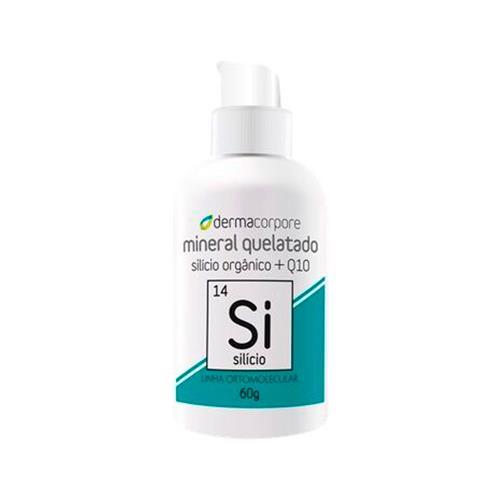 Silício Quelato E Q10 Para Formação De Colágeno 60 G - Dermacorpore