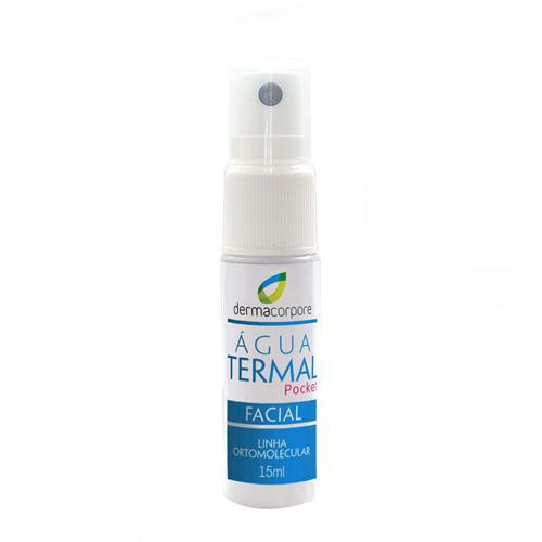 Água Termal Facial Pocket 15 Ml - Dermacorpore