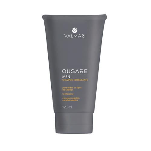 Shampoo Refrescante Ousare Men 120Ml - Valmari