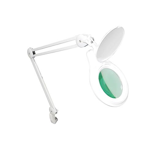 Lupa Articulada Com Fixador Para Mesa, Dimmer, Zoom De 5X E Led - Hl-410 - Solver