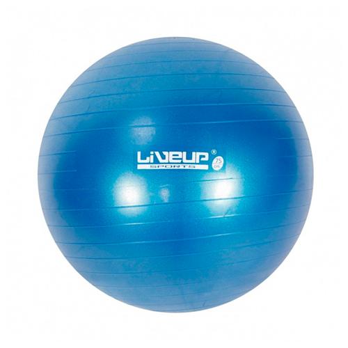 e6e92cb962 Bola Suiça 75Cm Premium Liveup - Suporta Até 300Kg - Azul - Fitness ...