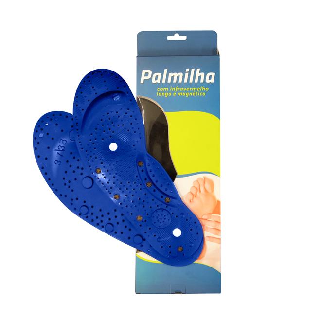 7914fbd65 Palmilha Ortopédica De Silicone Com Infravermelho Longo E Magnético - Tech  Confort | Therapy. Ampliar